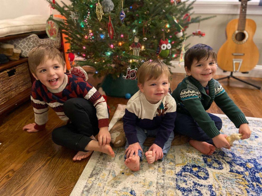 Joey, Logan y Noah